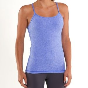 Lululemon Power Y Tank Top Blue Size 6